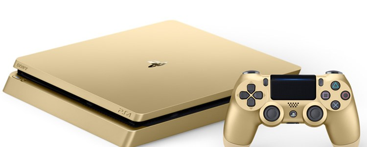 PlayStation PS4 gold limited edition