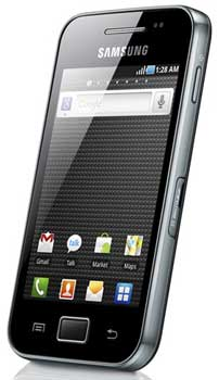 Samsung Galxy Ace, Android Froyo smartphone