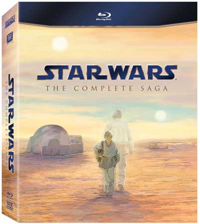 Star Wars: The Complete Saga, Blu-ray box