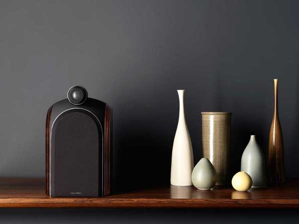 Bowers & Wilkins PM1, on shelf