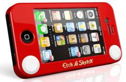 Etch A Sketch iPhone 4 case