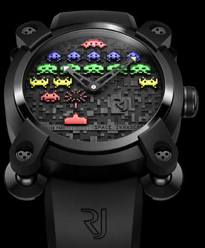 Romain Jerome Space Invaders watch - Day colour