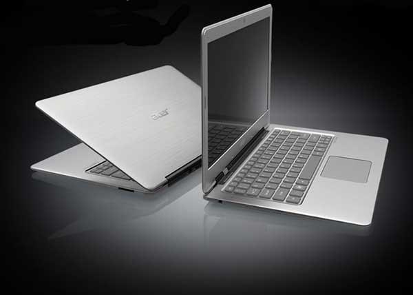 Acer Aspire S3 ultrabook computer