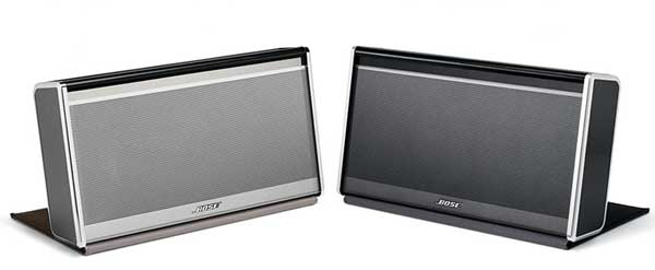 Bose SoundLink Wireless Mobile Speaker, in black and silver