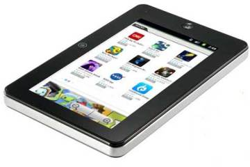 Pierre Cardin Tablet, front angle view