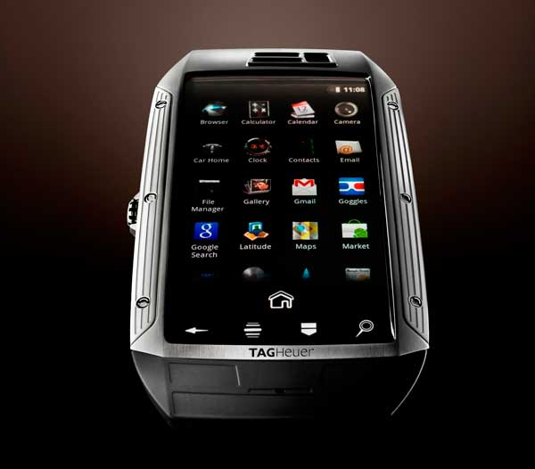 Tag Heuer Link smartphone, home screen