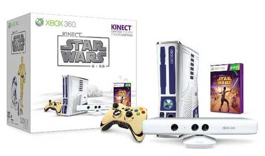 Xbox 360 Star Wars Kinect bundle