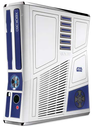 Xbox 360 Star Wars, the R2-D2 console