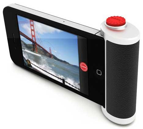 POPA iPhone camera button