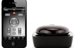 Griffin Beacon remote control device and app, with iPhone