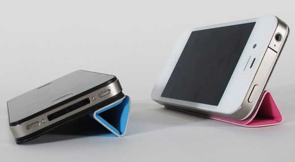 TidyTilt for iPhone, in its 2 positions
