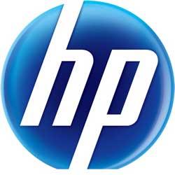 HP circle logo
