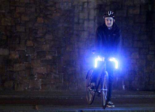 Glo-Bars bicycle lighting system