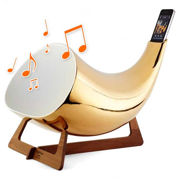 Megaphone iPhone speaker