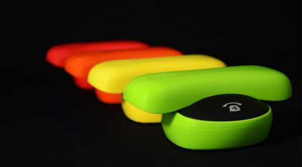 Oricom Gilda DECT cordless telephone, colour-range