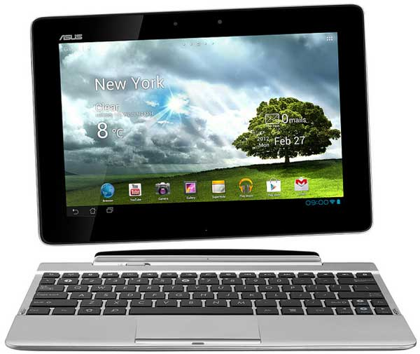 Asus Transformer Pad TF300T, separate screen and keyboard dock