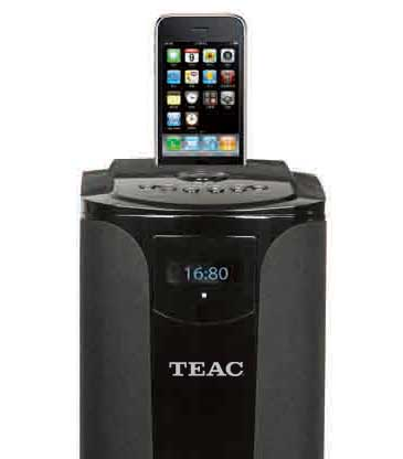 TEAC ITB500 iPod dock, top