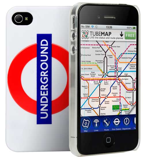 Cygnett Underground iPhone 4S case