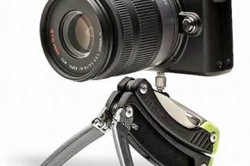 Gerber Steady Tool, holding a camera
