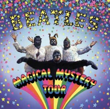 Magical Mystery Tour, on Blu-ray and DVD