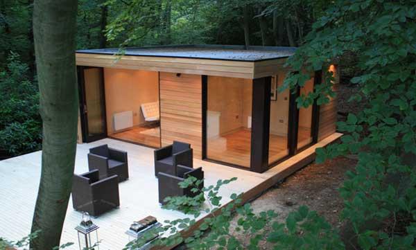 in.it studios, garden office / studio
