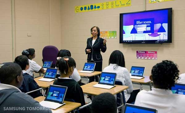 Samsung Smart School classroom