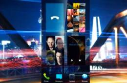 Jolla Sailfish user interface for smartphones, tablet computers, smart TVs, cars