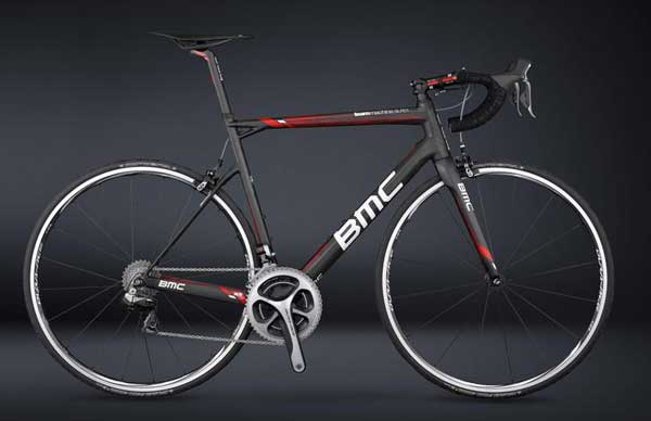 BMC SLR01 teammachine bicycle, ridden by Cadel Evans in the 2013 Tour de France
