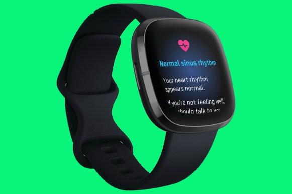 Fitbit Sense ECG screen