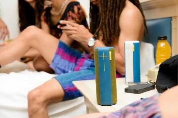 UE Boom wireless music speaker, colours