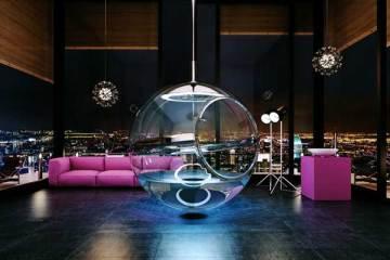 Bathsphere, a design concept from Alexander Zhukovsky