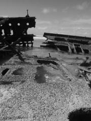 Fraser-Island-Maheno-shipwreck-mono