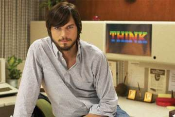 """Screenshot from the film """"Jobs"""", starring Ashton Kutcher as Steve Jobs"""