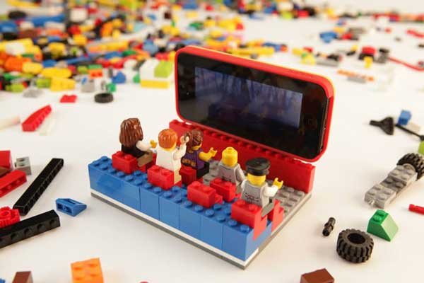 Lego Belkin iPhone case cinema