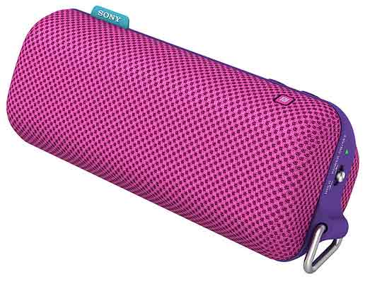 Sony To Go portable speaker, pink