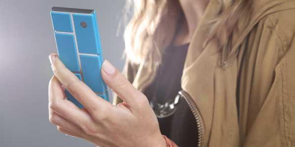 Motorola Ara endo frame with blue components