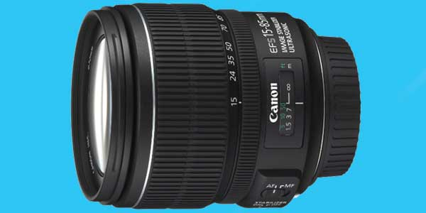 Canon 15-85mm camera lens