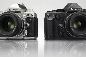 Nikon Df DSLR camera colour range