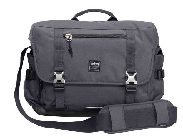 STM Trust graphite messenger bag