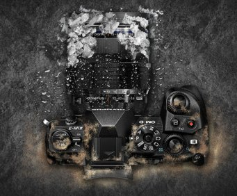 Olympus OM-D E-M1 Mark II, beset by the elements