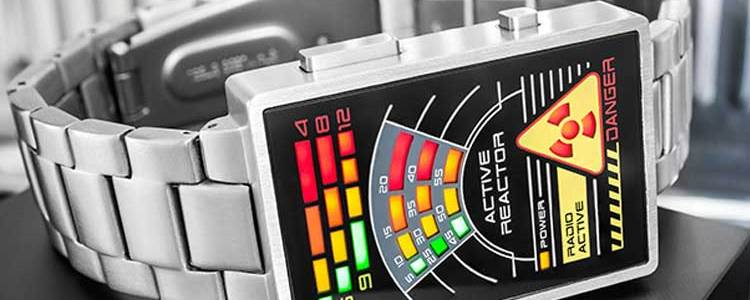 Tokyoflash Radioactive LED Watch