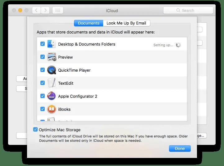 Maximize iCloud