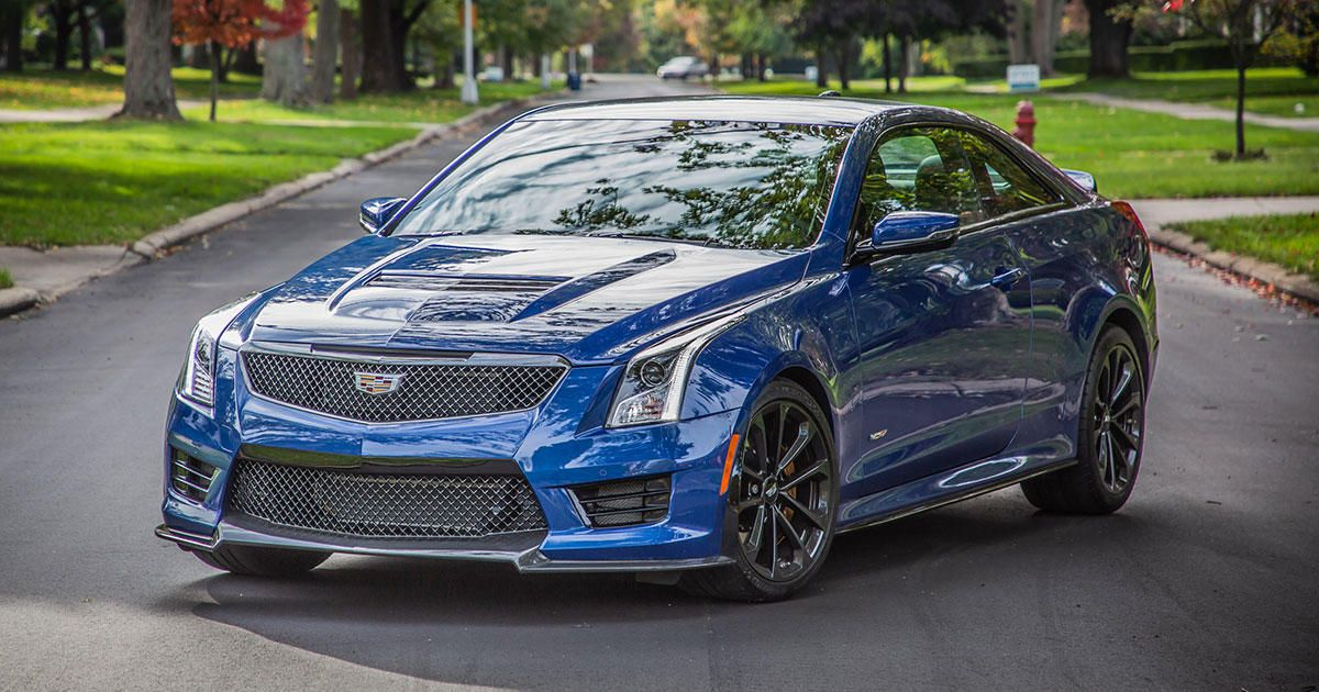 Cadillac Ats V Coupe >> 2019 Cadillac Ats V Coupe Review One Last Spin In The M4
