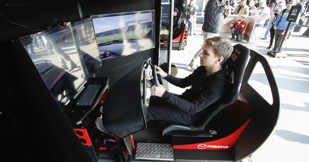 Mazda and iRacing Run Nationwide Driving Talent Search: | TechSwitch