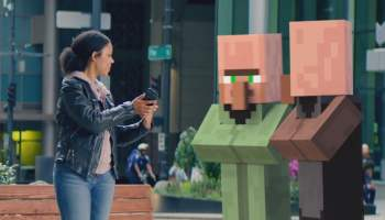 Minecraft Earth makes the whole real world your very own blocky
