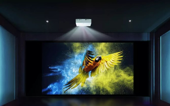 LG's new 4K UHD CineBeam projector is way more affordable