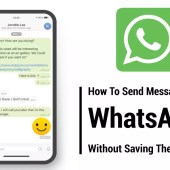 How to send Messages on WhatsApp without saving the number