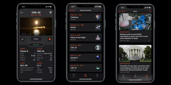 XLaunch iPhone App for free Rocket Launch and Space News Tracking