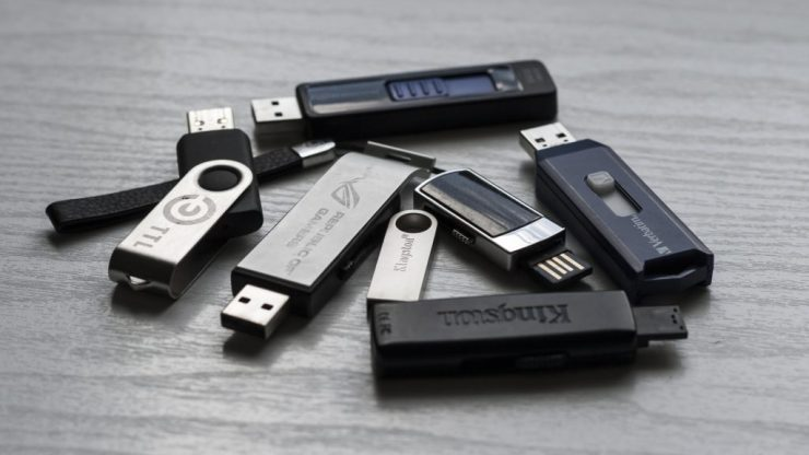 What should you do with found usb?