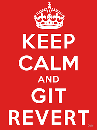 Git revert specific commits from command line